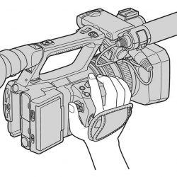 NX5 Digital HD Video Camera Recorder operating guide. [pdf]
