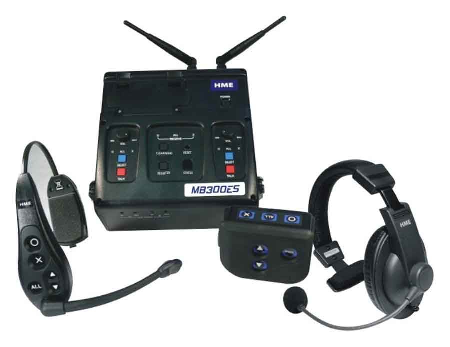 DX300ES Wireless Headset System
