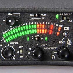Sound Devices 522 five-channel portable production mixer with integrated recorder