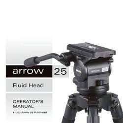 Miller Arrow 25 Fluid Head operator's manual